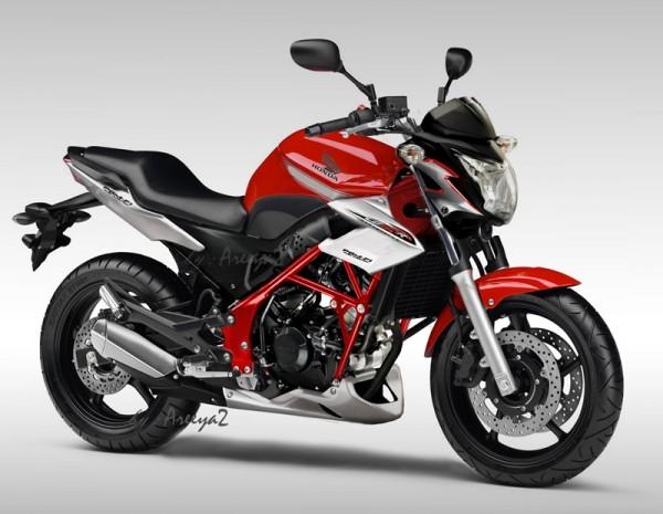modifikasi Honda CB 150R Streetfire title=