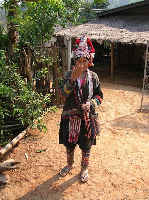 escursione da chiang rai, tribù della thailandia