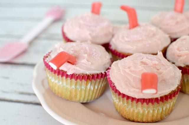 Strawberry Milkshake Cupcake Recipe