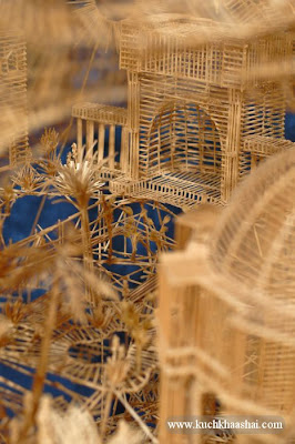 Model of San Francisco Made Using 100000 Toothpicks