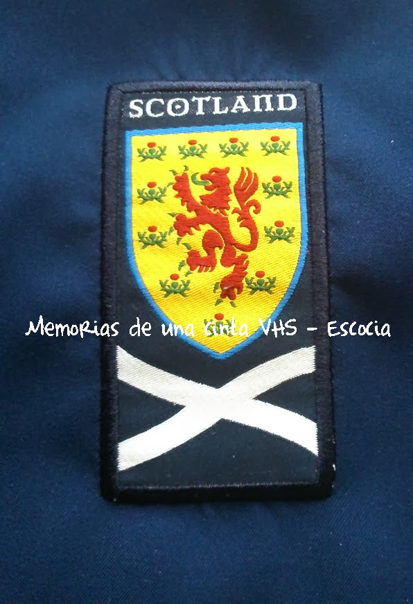 escudo Escocia, Scotland badge