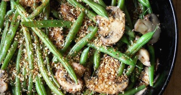 Miso Green Beans with Mushrooms & Spicy Panko | Season ...