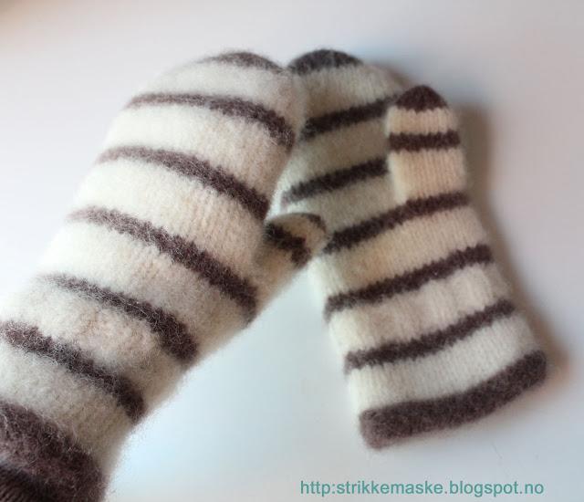 Tova votter med striper