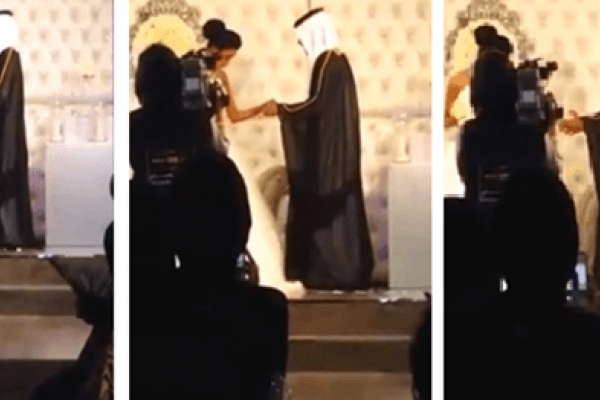 فيديو : عريس كويتي يغني لعروسه في ليلة زواجه, كويتي يغني لحبيبته ليلة زواجهما, فيديو عريس يغني لحبيبته,