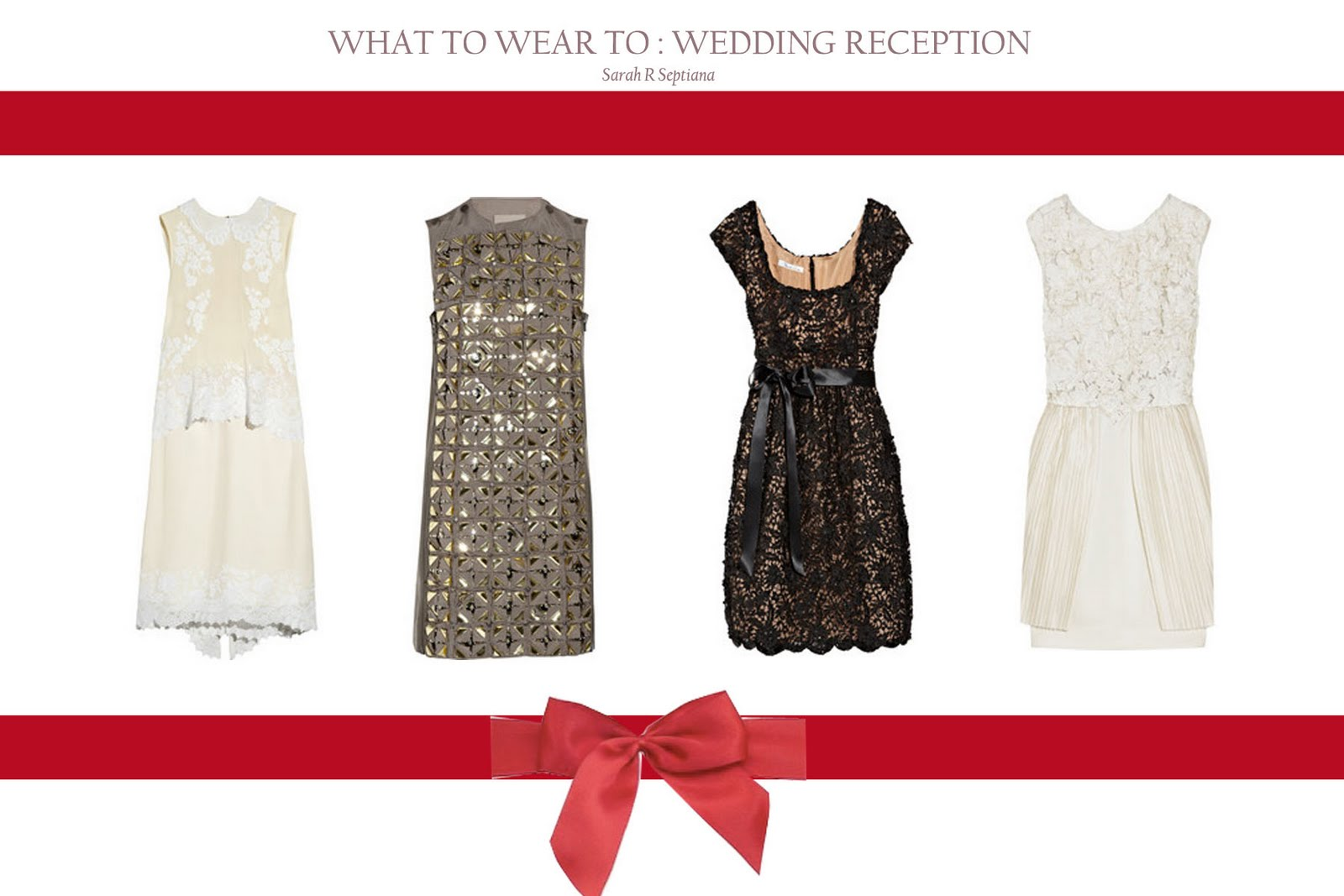What To Wear To Wedding Reception