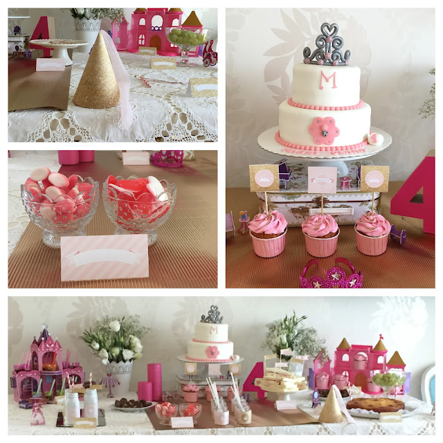 Decoração de festa de aniversário de menina