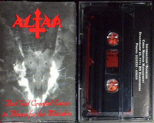 Altar (NLD) - Death Metal [Discografia]