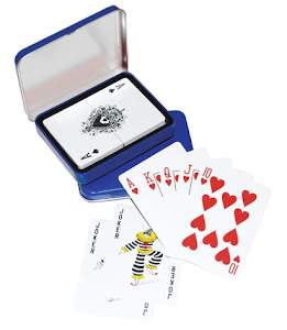 "CENTRUM LINK - ""POKER CARDS IN TIN BOX"" - YGA 1001"