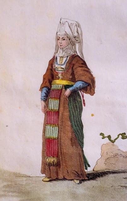 Antigo vestido do vale
