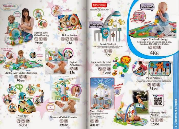 juguetes bebe navidad 2014 corte ingles