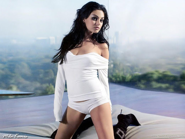 Mila Kunis Glamor Photo Shoot