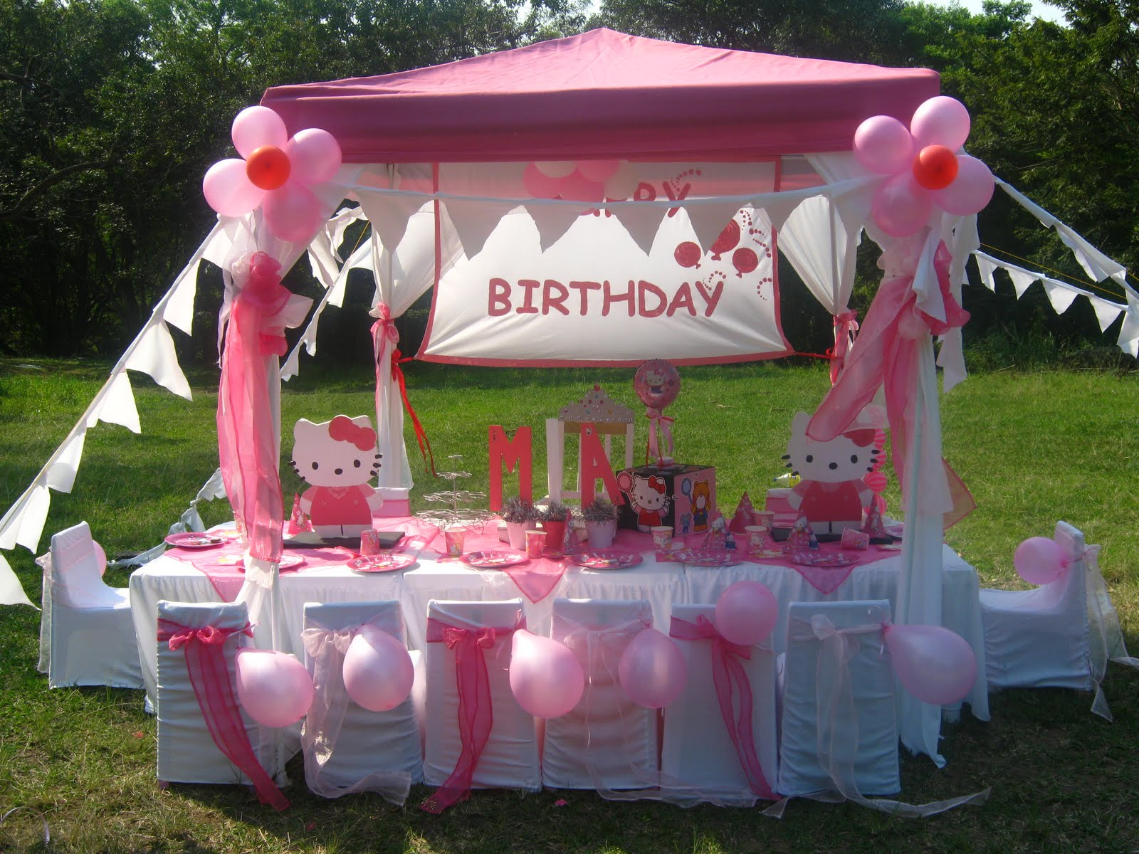 Kids Dream Parties Mia S Hello Kitty Party