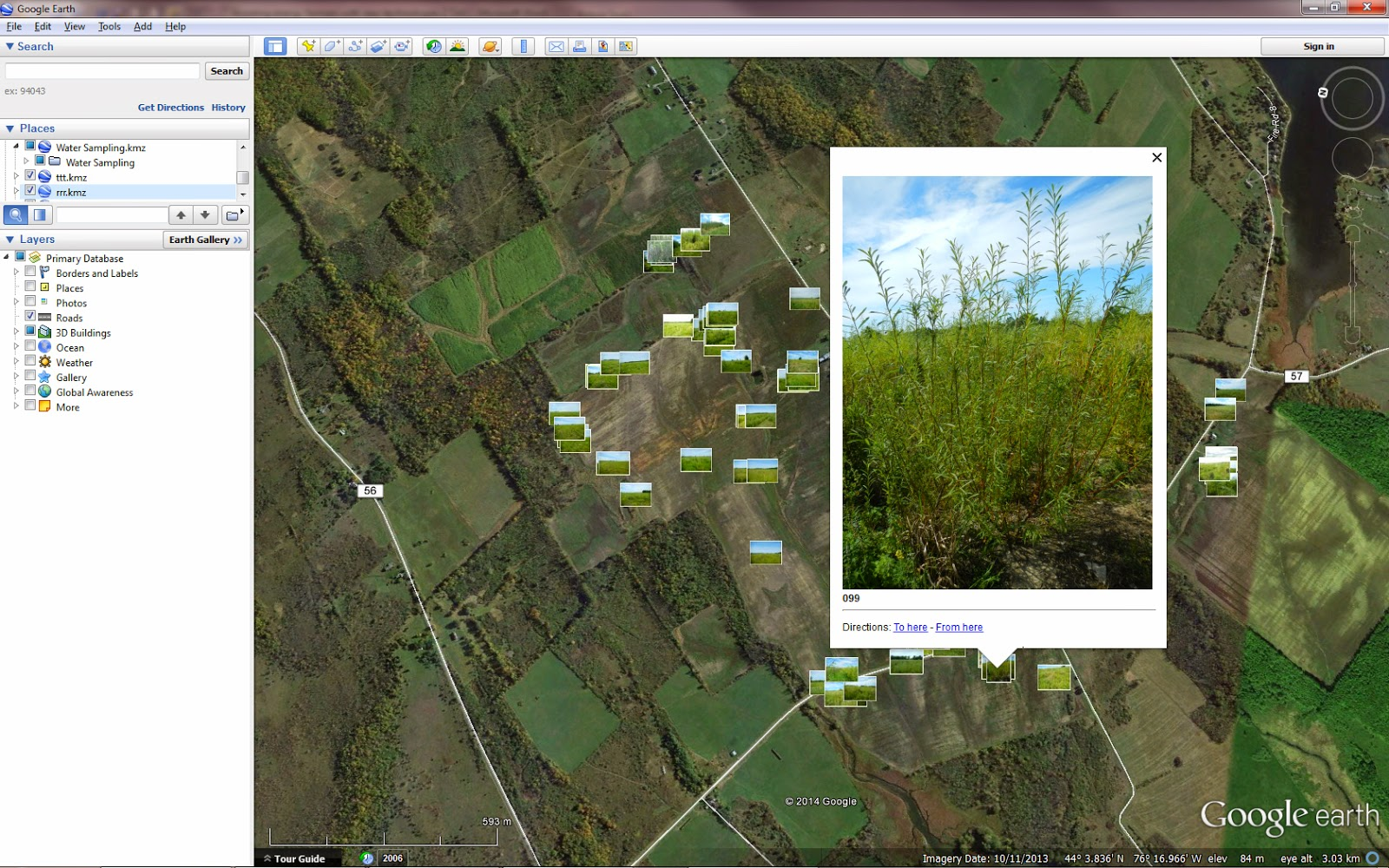 figure 1 click to enlarge a series of geo tagged photos across five hundred acres of shrub willow bioenergy crops in new york state displayed in the