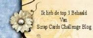 """TOP-3 Scr@p Cards op 28-06 2017 (#97) """"Geel Elfje"""""""