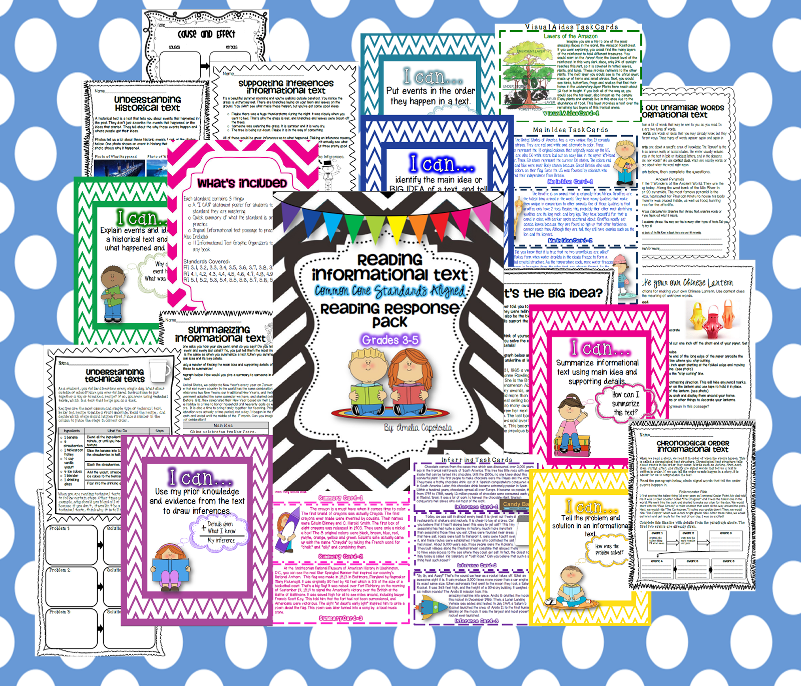 information and informational text where the wild things learn if you head on over to my tpt shop you can pick up your own copy here i can t wait to hear about others using it to make it fun