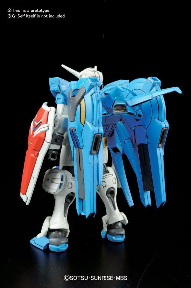 Re: กันพลาเดือน 12/2014: PG Unicorn Gundam!!, RG Wing Zero EW, RE1/100 Mk-III, HG Jahanam, HG R-GyaGya, SD Burning, HG G-Self Space Option Parts