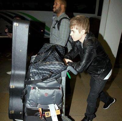 Justin Bieber Manila arrival photo
