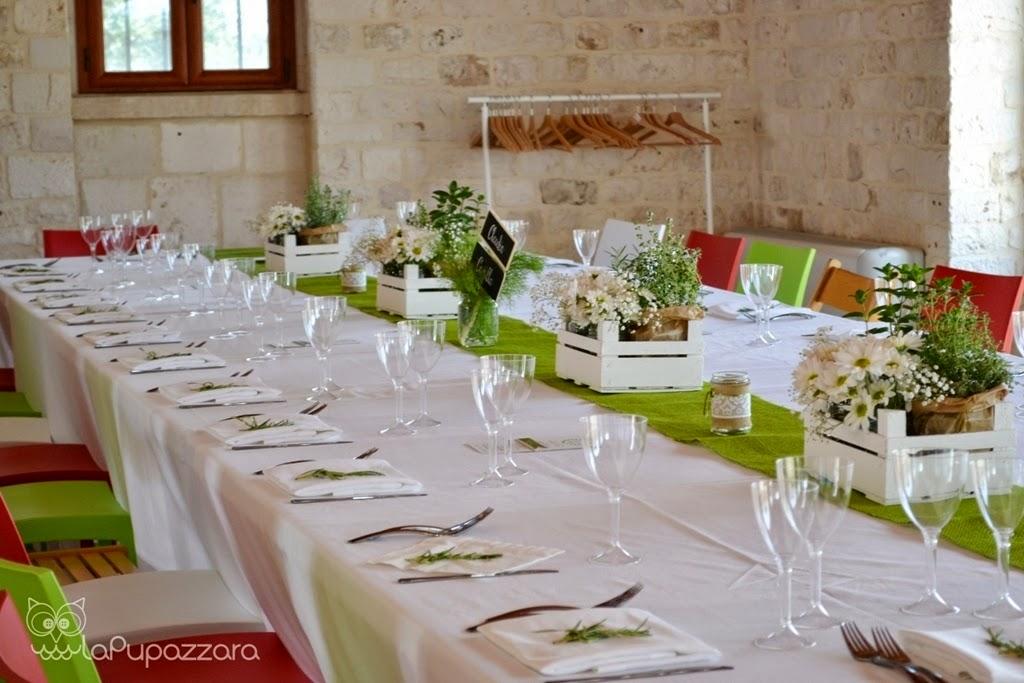 La pupazzara allestimento comunione - Tavolo per prima comunione ...