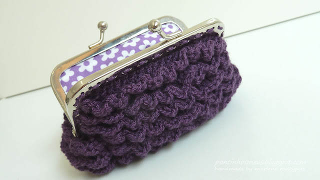 romantic coin purse, free crochet patterns - crafts ideas - crafts for ...