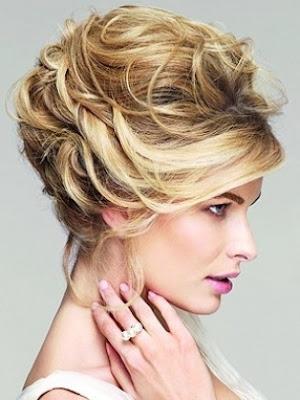 Peinados recogidos para fiestas tendencias 2013 peinados para