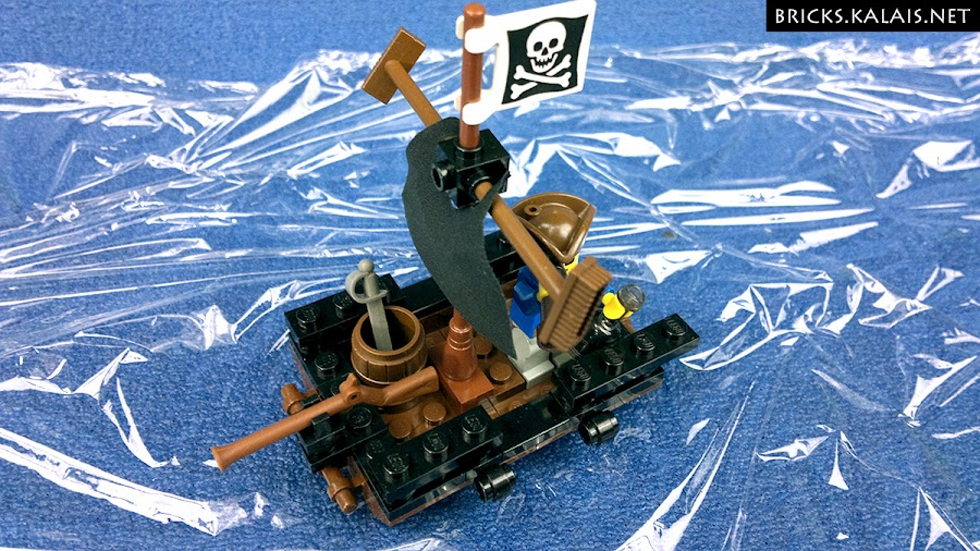3. View from above - cool barrel is a must for every pirate set