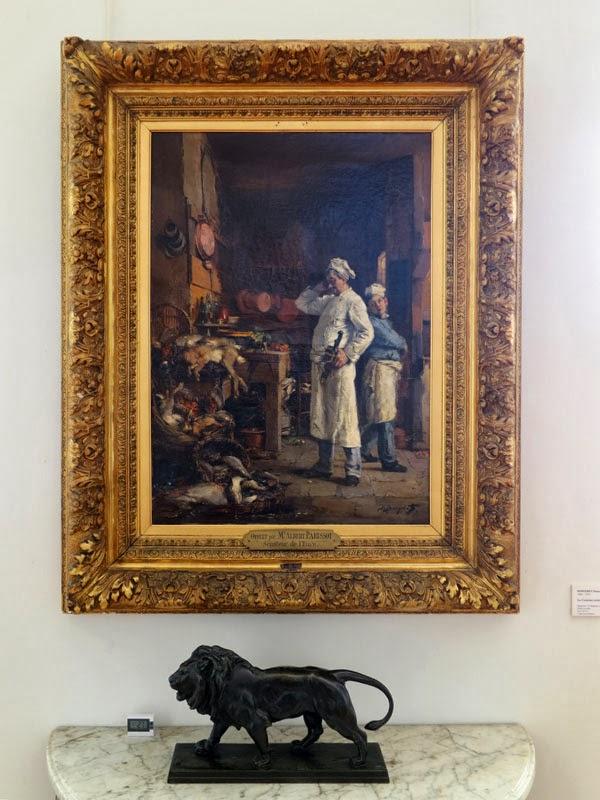 Peintures des mus es de france bernay for Cuisinier louis 14