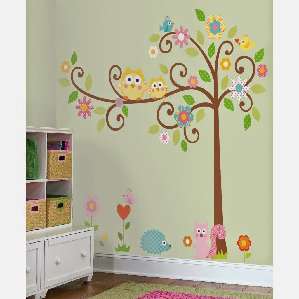 Wall Design For Kids kids rooms decorating ideas by designsmag Simple Wall Designs With Paint For Kids 2014