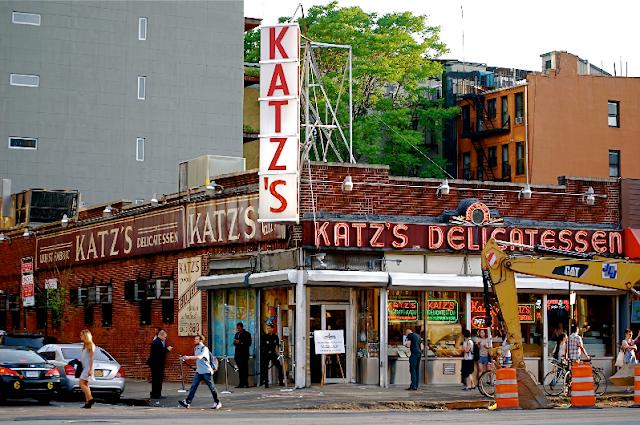 Katz's Delicatessen em Nova York