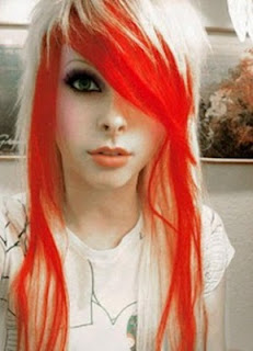 gambar emo rambut 2013