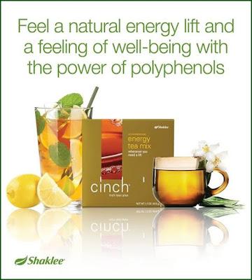 Ziana Eunos: Kebaikan Cinch Energy Tea Mix #Shaklee
