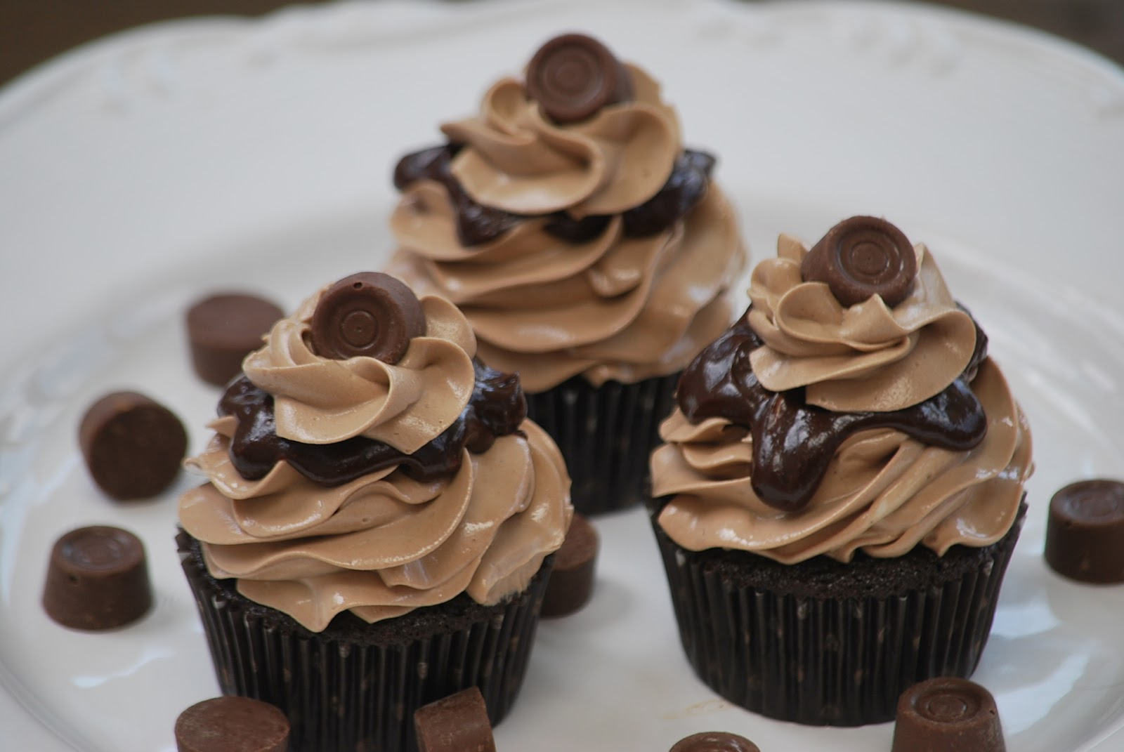 My story in recipes: Rolo Cupcakes