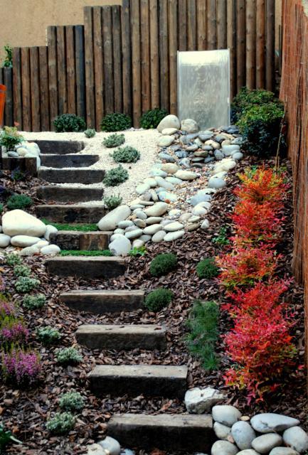 Jard n en pendiente jardines con alma - Jardines en pendiente ...