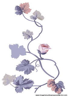 Dibujos de flores moradas