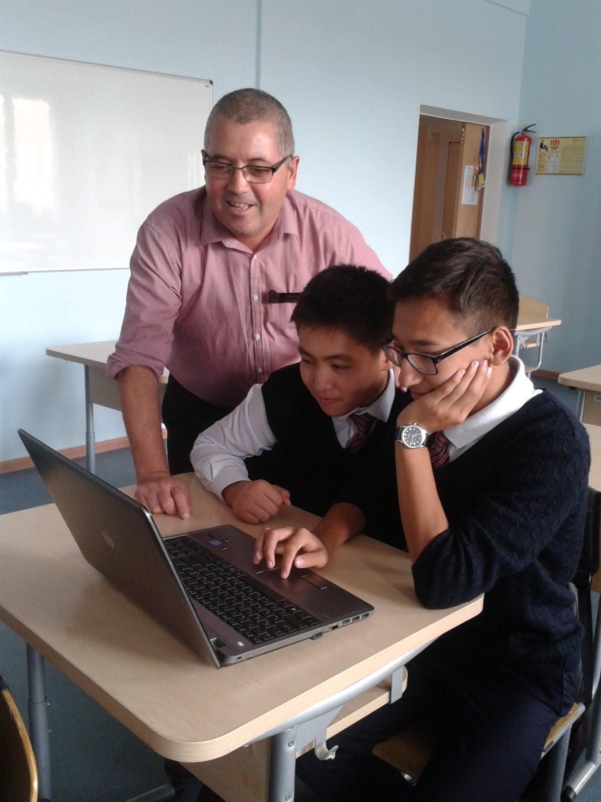 My STEM Science class in Kazakhstan 2016