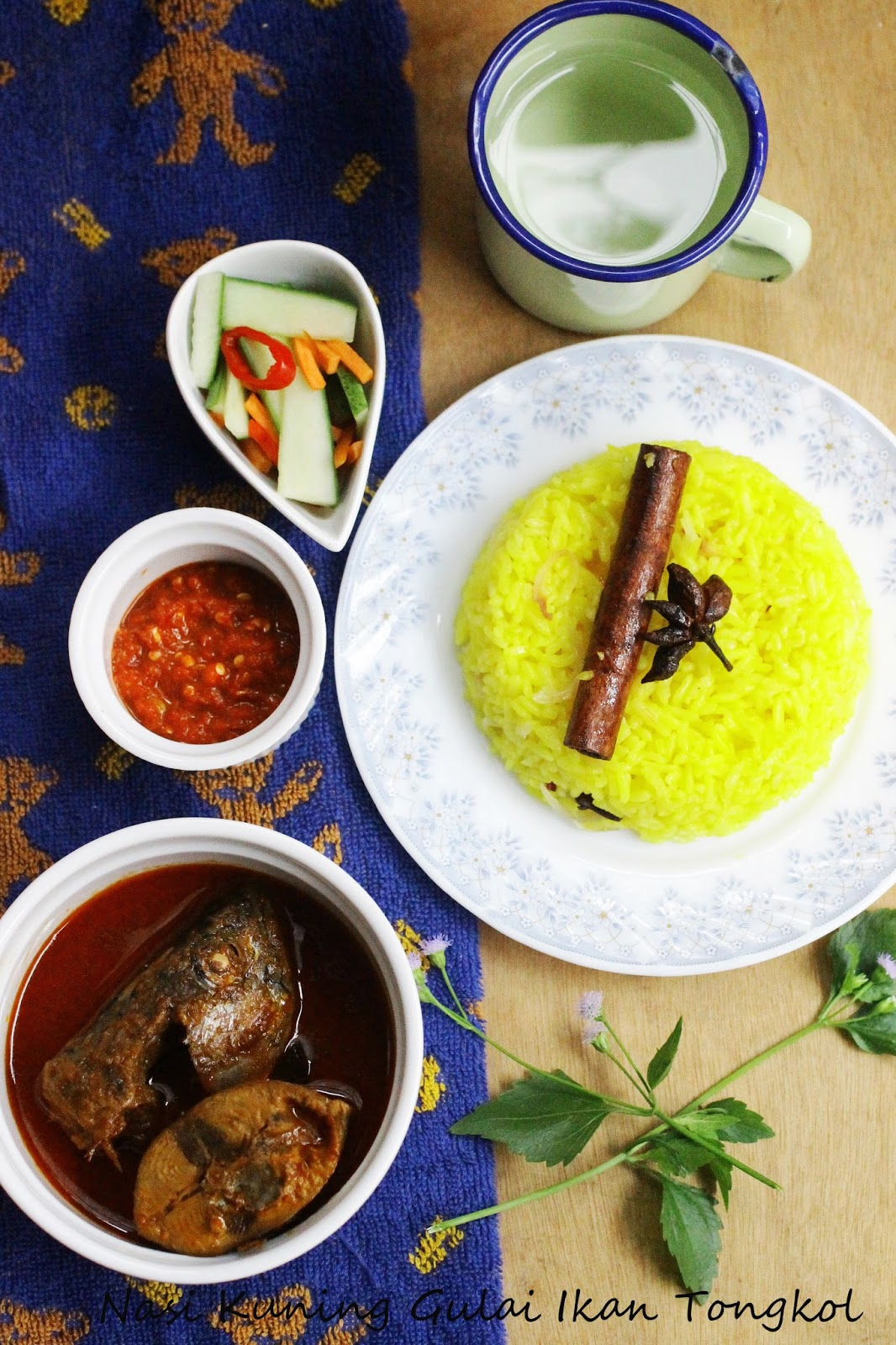 Resepi Gulai Ikan Tongkol Nasi Air Dingin Copd Blog E