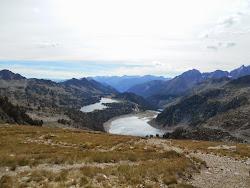 Lacs d'Aubert, d'Aumar.