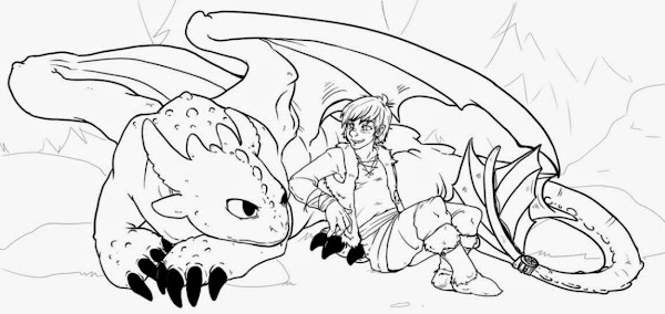 How To Train Your Dragon Printable Coloring Pictures