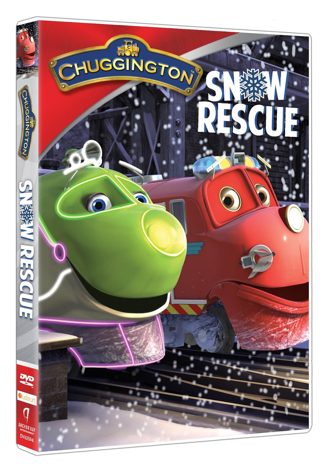Chuggington: Snow Rescue Rolls Onto DVD This Holiday Season - A New ...
