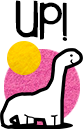 Dino Dino up!-button