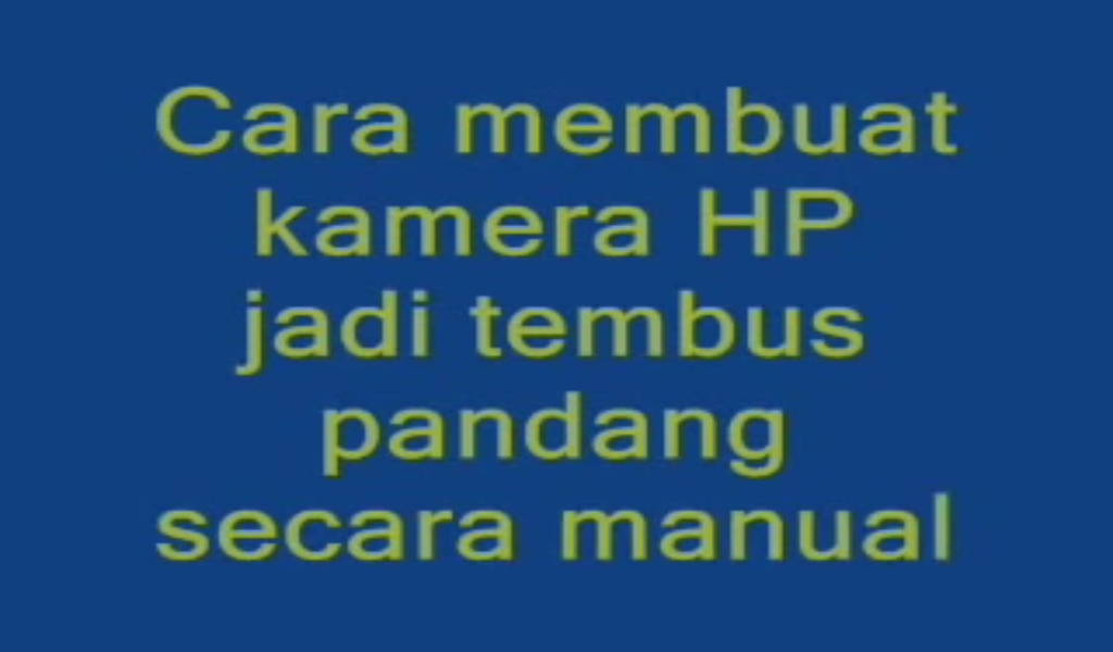 download software kamera tembus pandang