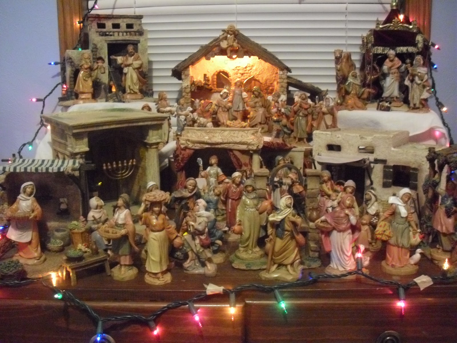 The small town catholic christmas decorations indoor for Christmas decorations indoor