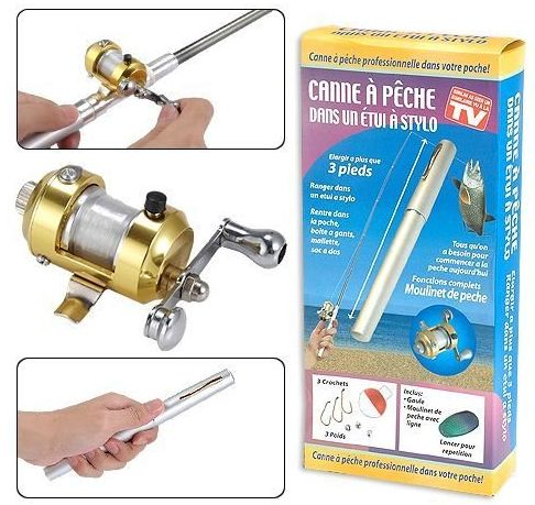 Pena Pancing Ajaib dan Portable | Coleman Fish Pen Fishing