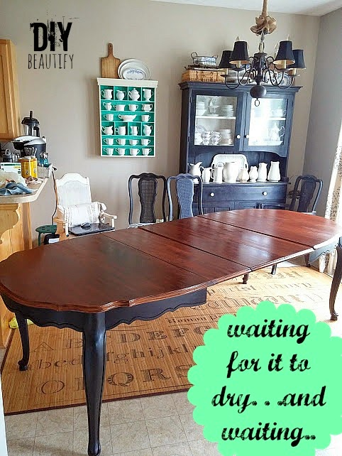refinishing a table top. Refinishing a Dining Table   DIY beautify