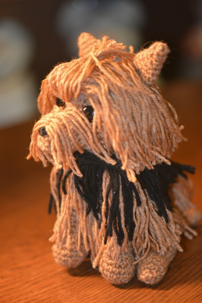 Amigurumi Animals Patterns Free : Crochet Parfait: Janets Yorkie