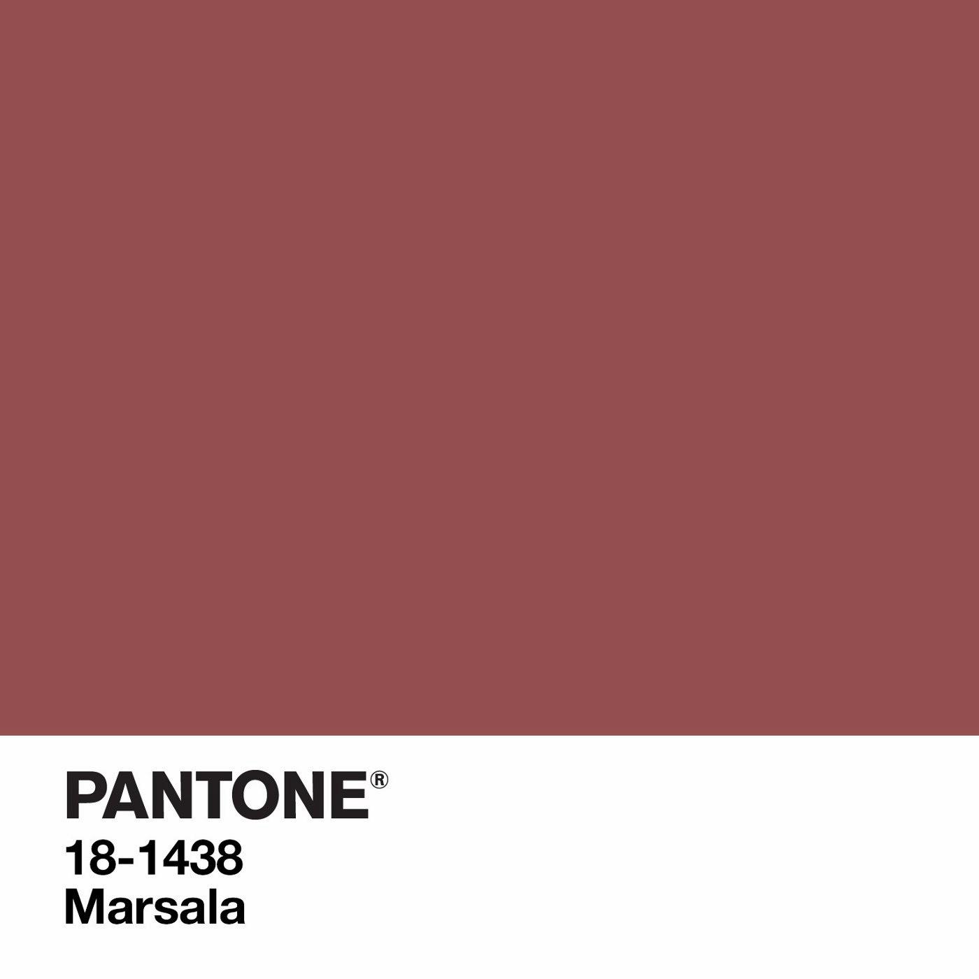 foto: marsala pantone color of the year 2015