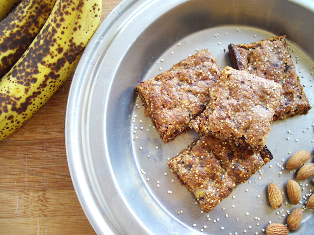 Banana Nut Quinoa Bars