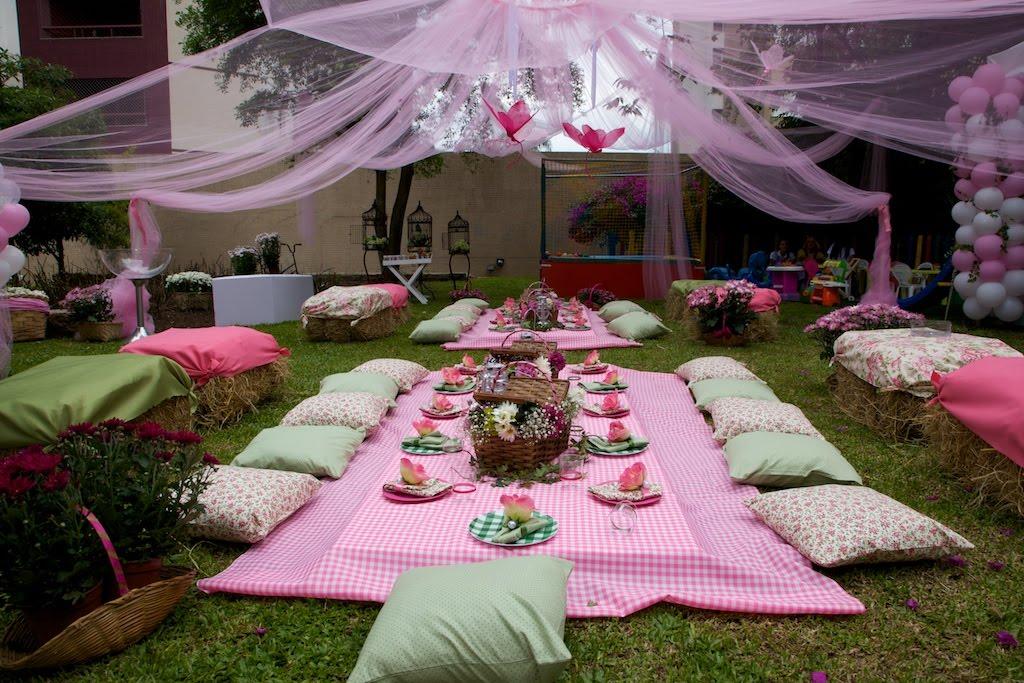 E hoje vai ser uma festa festa tema piquenique for Casa al dia decoracion