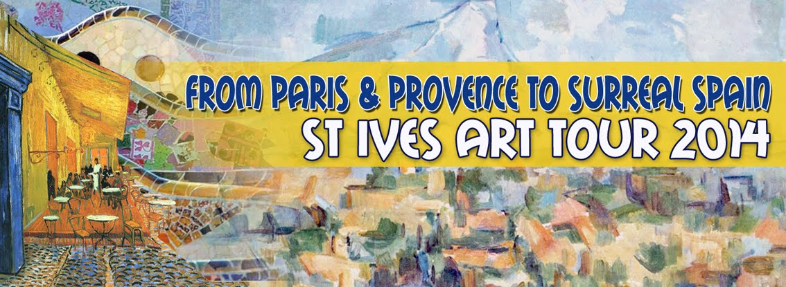 From Paris & Provence to Surreal Spain Art Tour 2014