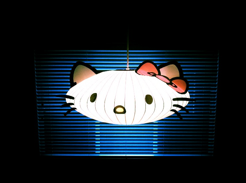 The contemplative creative hello kitty lantern decoration - Deco chambre hello kitty ...