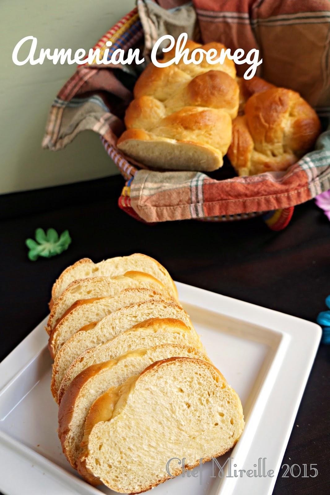 Choereg, Easter Bread, Armenian Bread